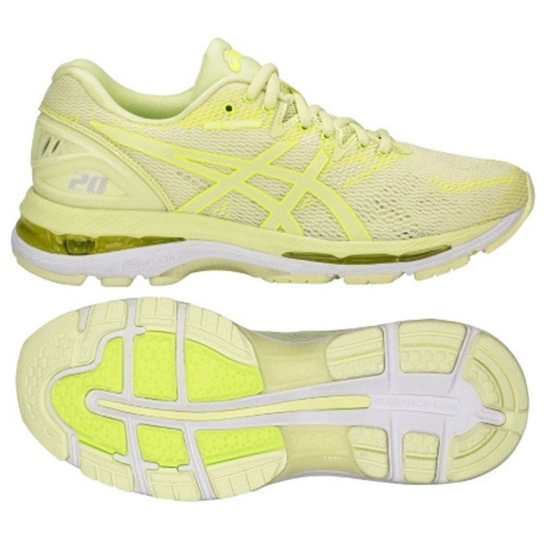 Running shoes Asics Gel Nimbus 20 W T850N-8585 yellow