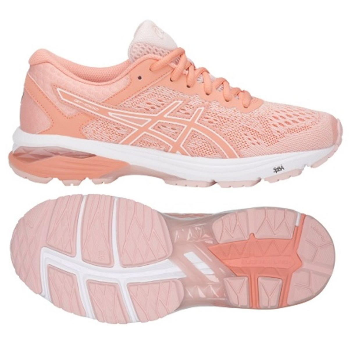 Running shoes Asics Gt 1000 6 W T7A9N-1706 pink