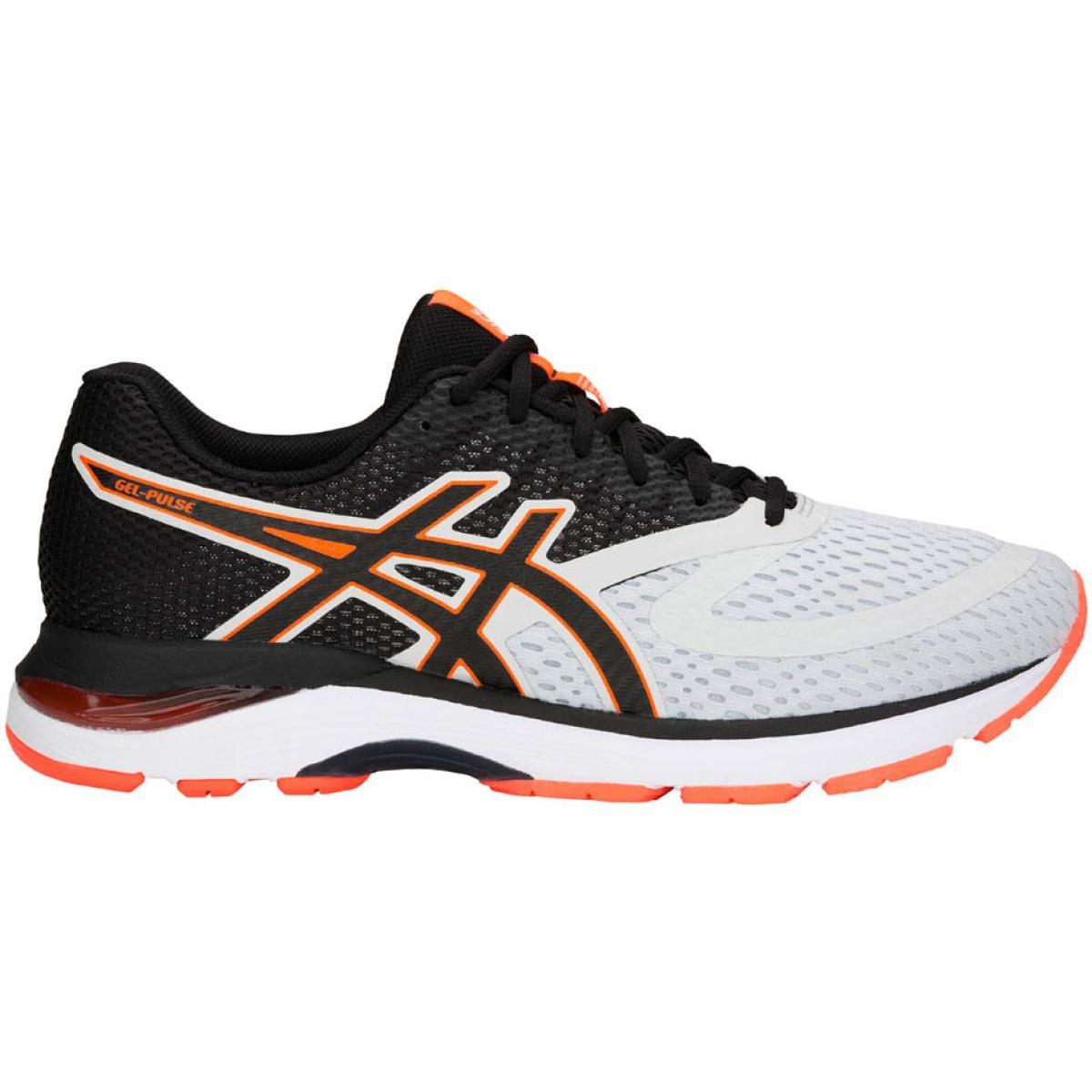 Running shoes Asics Gel Pulse 10 M 1011A007-020 white black orange
