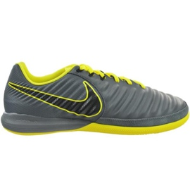 Indoor shoes Nike Tiempo Lunar Legend X7 Pro Ic M AH7246-070 grey multicolored