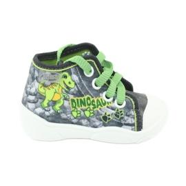 Befado children's shoes 218P058 grey green