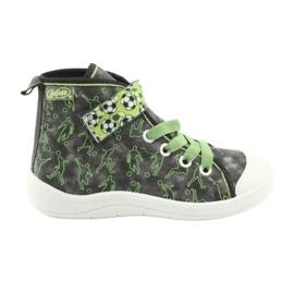 Befado children's shoes 268X070 grey green