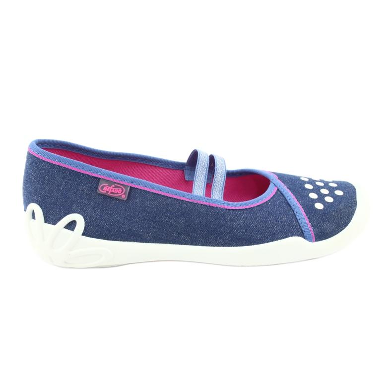 Befado children's shoes 116Y253 navy blue