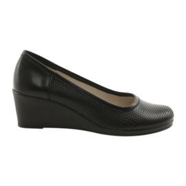 Wedge heels Gregors 763 black