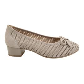 Women's shoes Caprice 22501 beige golden