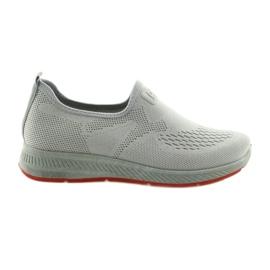 Sport shoes gray slip DK SA089