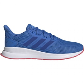 Running shoes adidas Falcon M F36207 blue
