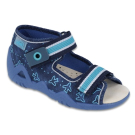 Befado yellow children's shoes 350P004