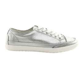 Women's sports shoes Filippo 703 silver grey