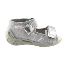 Befado children's shoes 342P002 silvery grey
