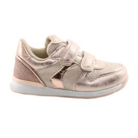 Pink Sneakers American Club ES25 gold