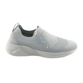 Grey American Club sports sneakers AD05