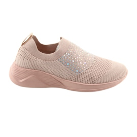 Pink American Club sports sneakers AD05