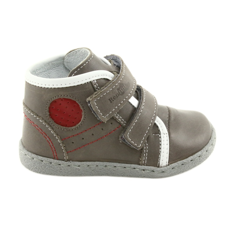 Boys' shoes Ren But 1423 gray grey red