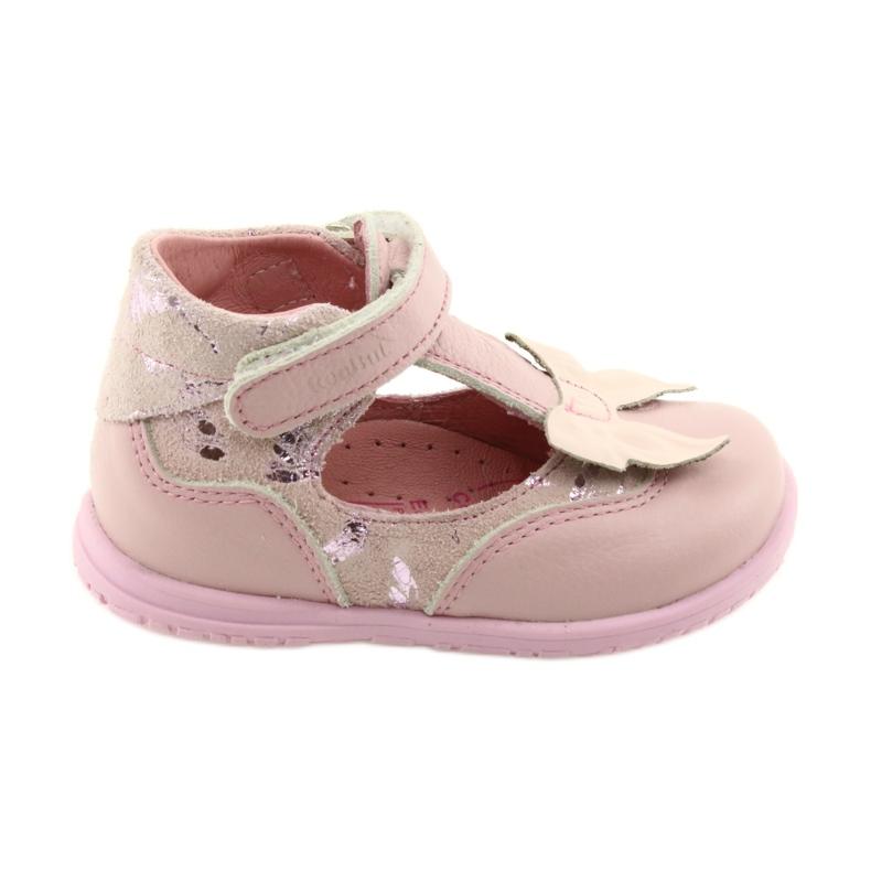 Ren But Ballerinas for girls with bow Ren 1466 pink