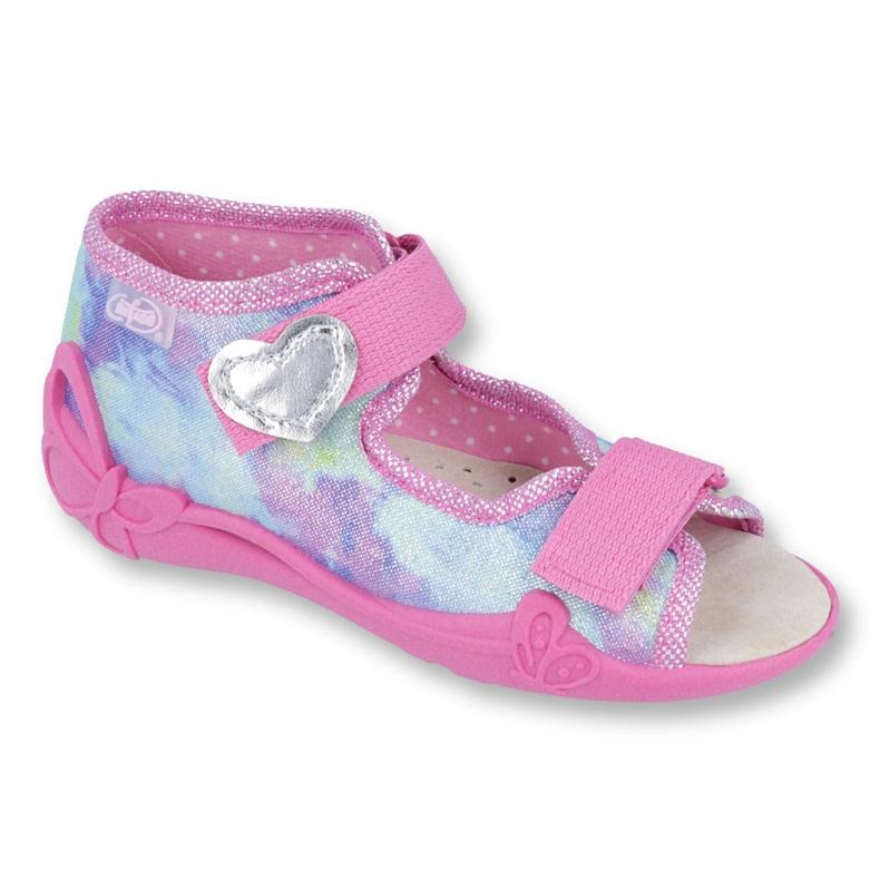 Befado yellow children's shoes 342P005