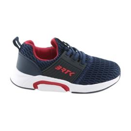 Bartek 58110 Slip-on navy blue sports shoes