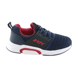 Bartek 58110 Slip-on navy blue sports shoes