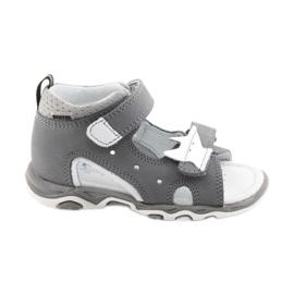 Sandals boys' turnips Bartek 51489 gray