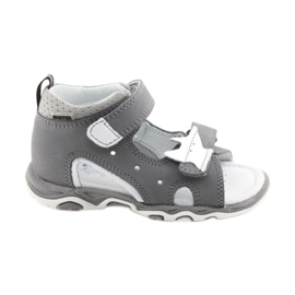 Sandals boys' turnips Bartek 51489 gray