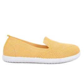 Yellow slip-on sneakers 784 Yellow
