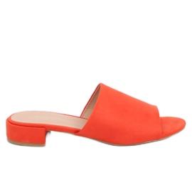 Women's orange slippers XW9093 Orange