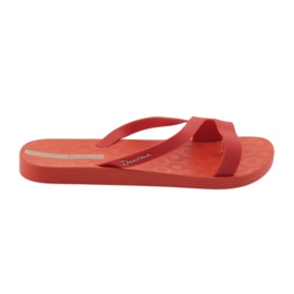 Women's slippers Ipanema 26263 red multicolored
