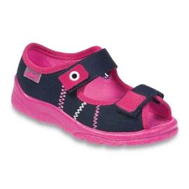 Befado children's footwear 969X105 pink navy