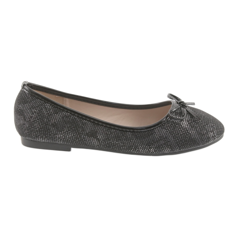 Ballerinas girls' American Club LU17 black grey