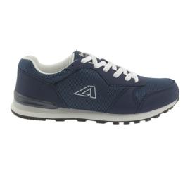 American Club 12 blue sports shoes navy