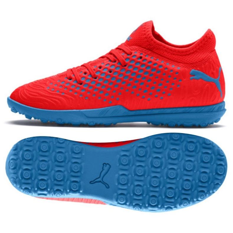 Football boots Puma Future 19.4 Tt Jr 105558 01 red red