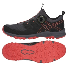 Black Running shoes Asics Gel Fuji Rado M T7F2N-020