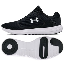 techo Variedad Otoño  Under Armour Running shoes Ua Surge Se M 3021231-001 black - ButyModne.pl