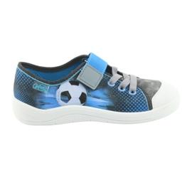 Befado children's shoes 251Y120 blue grey