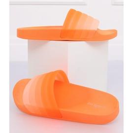 Women's orange slippers K-9183 Orange