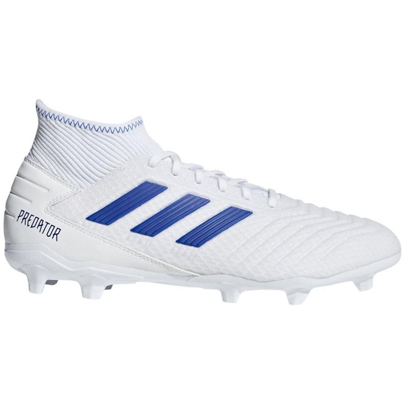 Football boots adidas Predator 19.3 Fg M BB9333 white multicolored