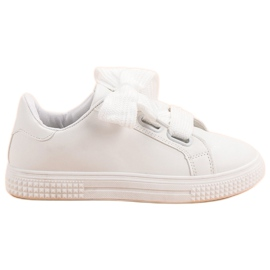Bella Paris White Sport Shoes