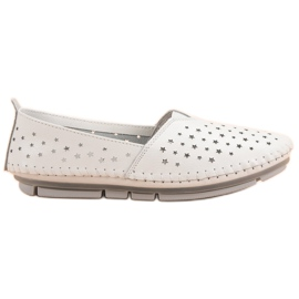 Kylie Leather Women Shoes white
