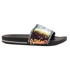 Seastar Sequins Flip Flops