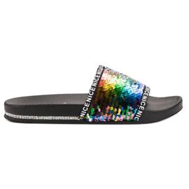 Seastar Sequins Flip Flops multicolored