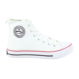 Sneakers White Tied American Club