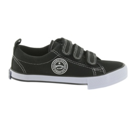 Velvet sneakers American Club black