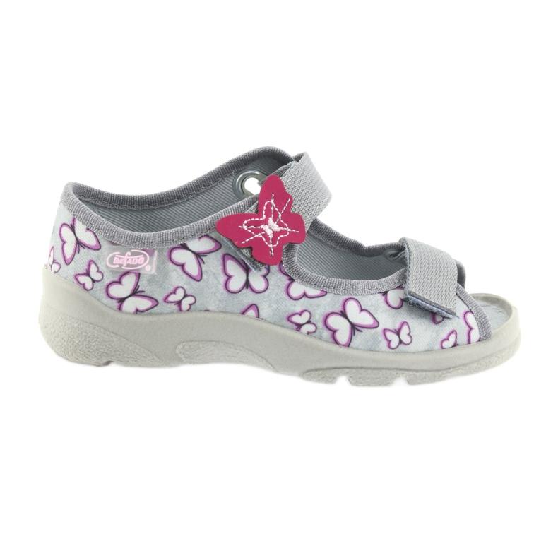 Befado children's sandals butterflies 969X135