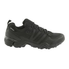 Atletico 8008 black sports shoes