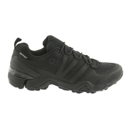 Atletico 8008 black sports shoes