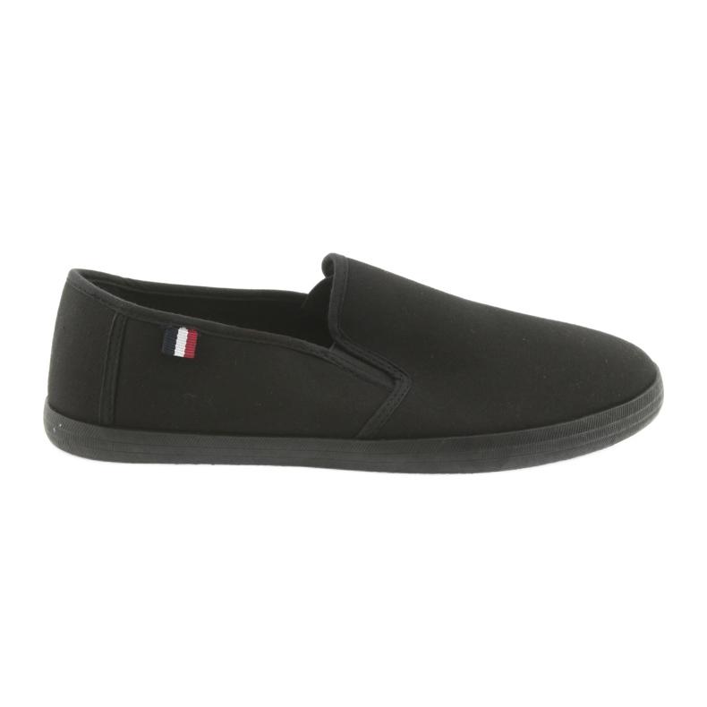 Black slip-on ATLETICO sneakers
