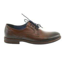 Men's mens brown shoes Nikopol 1712