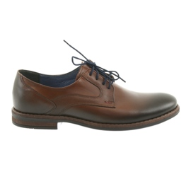 Men's mens brown shoes Nikopol 1712