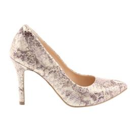 Women's shoes Edeo 3313 snake skin