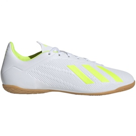 Indoor shoes adidas X 18.4 In M BB9407 white multicolored
